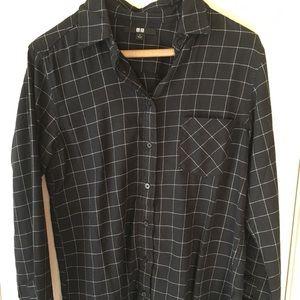 UNIQLO Grid Flannel